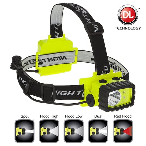 XPP5456G Intrinsically Safe Headlamp for use at mine and petrochemical facilities