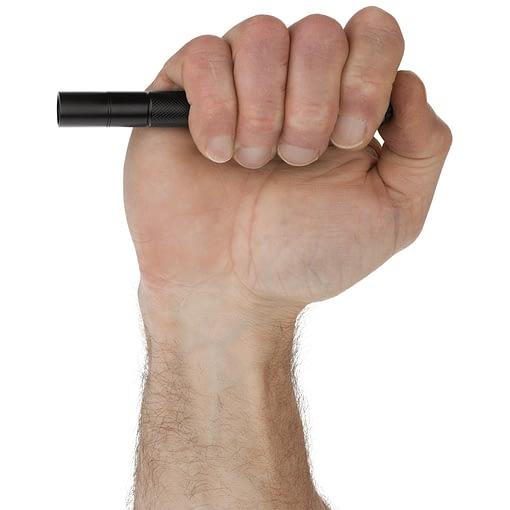Mini-Tac MT100 Tactical Flashlight - NightStick In Hand
