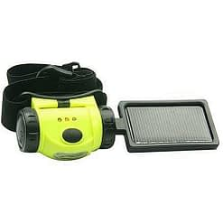 Solar Headlamp S081 with Detachable Solar Panel