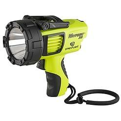 Waypoint 300 Rechargeable Spotlight, 3 beam settings, waterproof flashlight