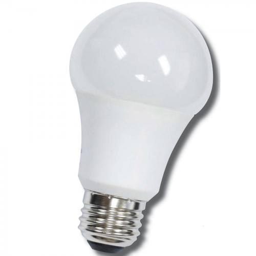 12-LEDA19-9W-ND standard shape 9W LED non-dimmable light bulb. Edison E-26 medium screw base fits standard socket.
