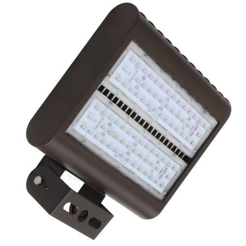 "LEDMPAL100 bright 100W LED floodlight 13""x10"", powder coated aluminum housing with heat resistant PC lens."
