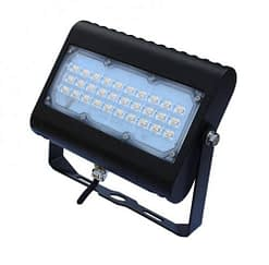 """LED Floodlight LEDMPAL50. DIMS 9""""x6"""", 50W, aluminum housing with heat resistant PC lens."""