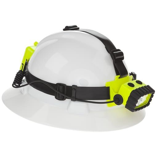 XPP-5456G Intrinsically Safe Headlamp - Hardhat