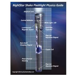 NightStar Shake Flashlight Physics Guide